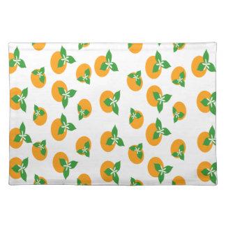 Orange Blossoms Placemats