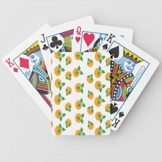 Orange Blossoms Deck Of Cards