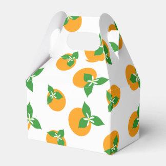 Orange Blossoms Party Favour Boxes