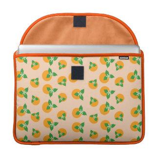 Orange Blossoms MacBook Pro Sleeves