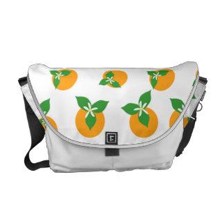 Orange Blossoms Commuter Bag