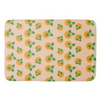 Orange Blossoms Bath Mats
