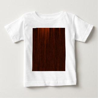 Orange/Brown and Black Lines Pattern Baby T-Shirt