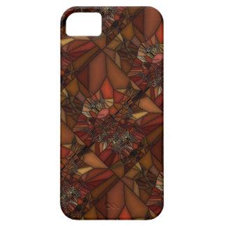 Orange Brown Art iPhone 5 Cover