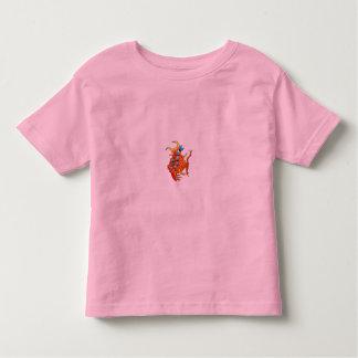 orange bubble fish T-shirt