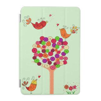 Orange Button Tree iPad Mini Cover