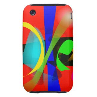 Orange Carnival iPhone 3 Tough Case