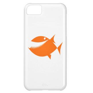 Orange Cartoon Fish Cover For iPhone 5C