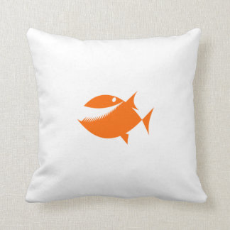Orange Cartoon Fish Pillows