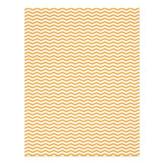 Orange Chevron/Zig Zag Scrapbook Paper 21.5 Cm X 28 Cm Flyer