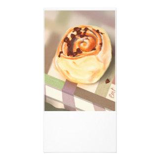 Orange & Choc-chip crescent rolls Card