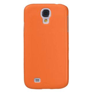 Orange Classic Colored Samsung Galaxy S4 Cover