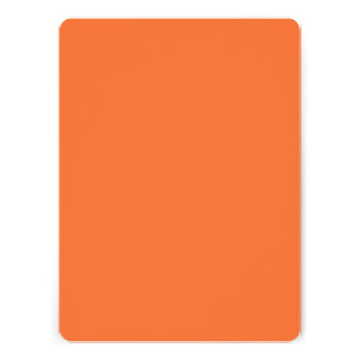 Orange Classic Colored Announcement
