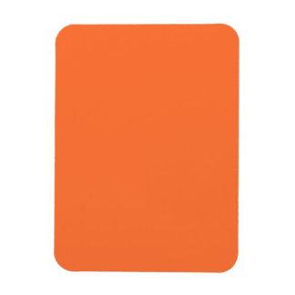 Orange Classic Colored Vinyl Magnet