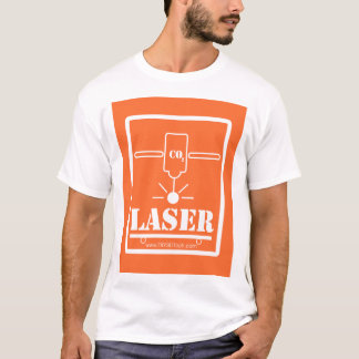 Orange CO2 Laser Cuts to the Bone! T-Shirt