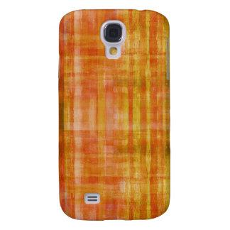Orange Color Art Galaxy S4 Case