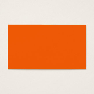 18 plain solid colour business cards and plain solid colour orange color business card reheart Image collections