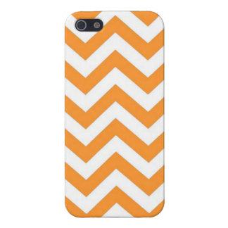 Orange Color Chevron iPhone 5/5S Case