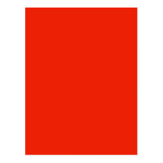 orange color post card