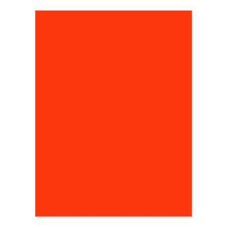 Orange Color Postcard