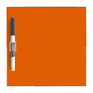 Orange Color Small Dry Erase Whiteboards