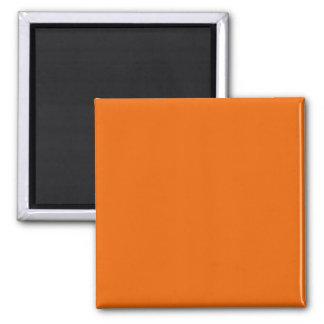 Orange Color Square Magnet
