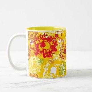 Orange Color Two-Tone Mug