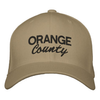 Orange County embroidered cap