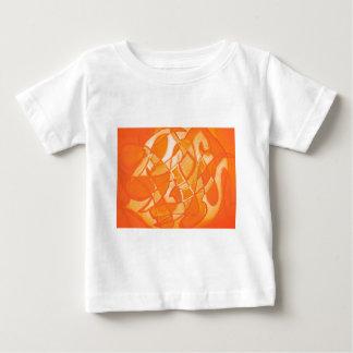 Orange Crush Abstract by  Kara Willis Shirts