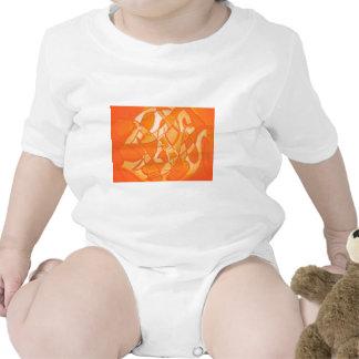 Orange Crush Abstract by  Kara Willis Shirt