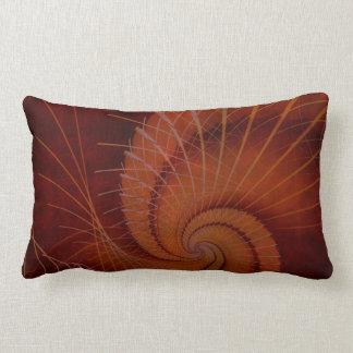 Orange Crush Abstract Decor Throw Cushions