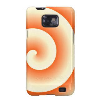 Orange Crush Samsung Galaxy SII Case
