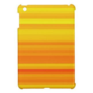 Orange Crush Crazy Stripes iPad Mini Cases