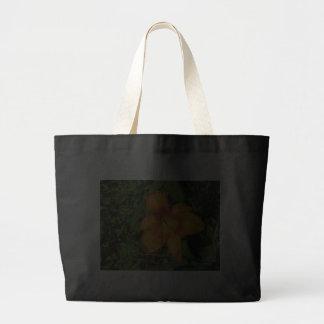 Orange Crush Daylily Canvas Bag