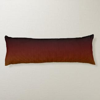 Orange Crush Hex Body Cushion