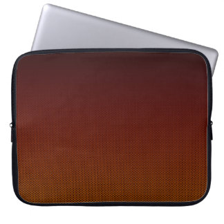 Orange Crush Hex Laptop Sleeves