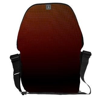 Orange Crush Hex Messenger Bag