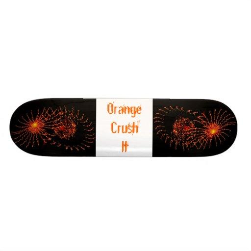 Orange Crush II Skateboard