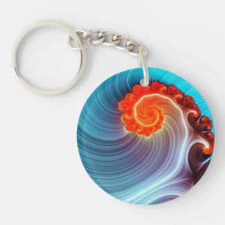 Orange Crush Keychain