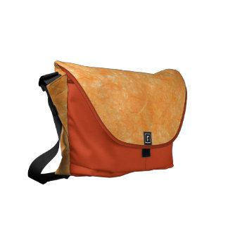 Orange Crush Rickshaw Messenger Bag