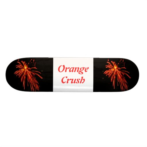 Orange Crush Skateboard