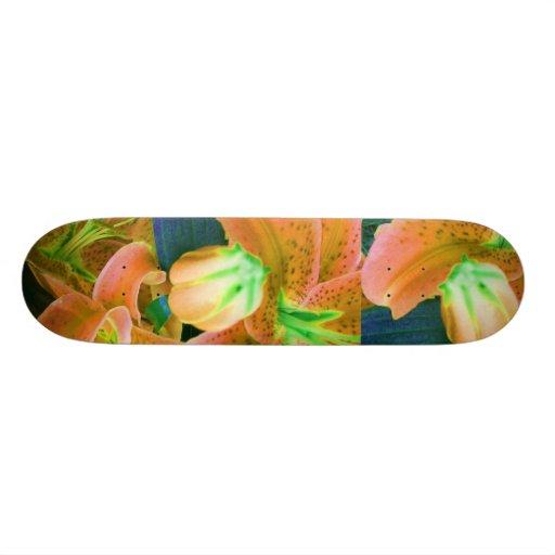 """""""Orange Crush"""" Skateboard Skateboards"""