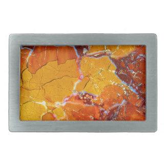 Orange-Crushed Texture Belt Buckle