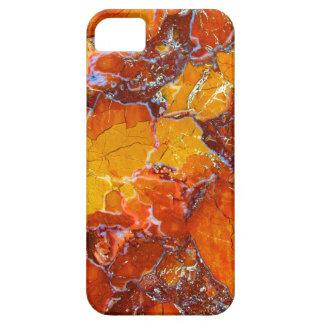 Orange-Crushed Texture iPhone 5 Cases