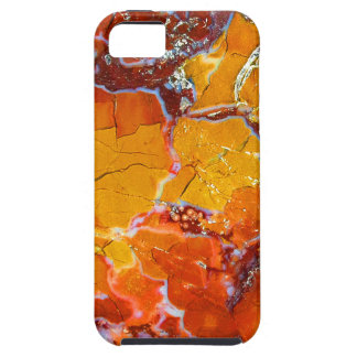 Orange-Crushed Texture iPhone 5 Cover