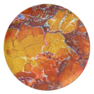 Orange-Crushed Texture Plate