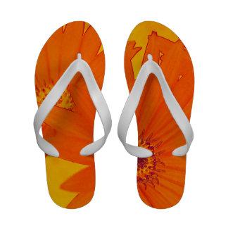 Orange Daisies Sandal Sandals