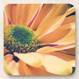 Orange Daisy Drink Coaster