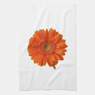 Orange Daisy Kitchen Towel