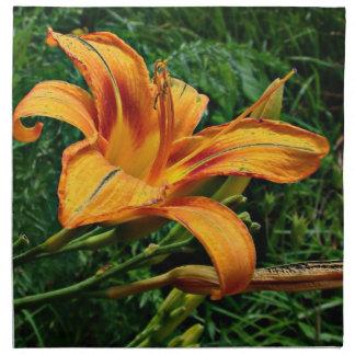 Orange Daylily Napkins